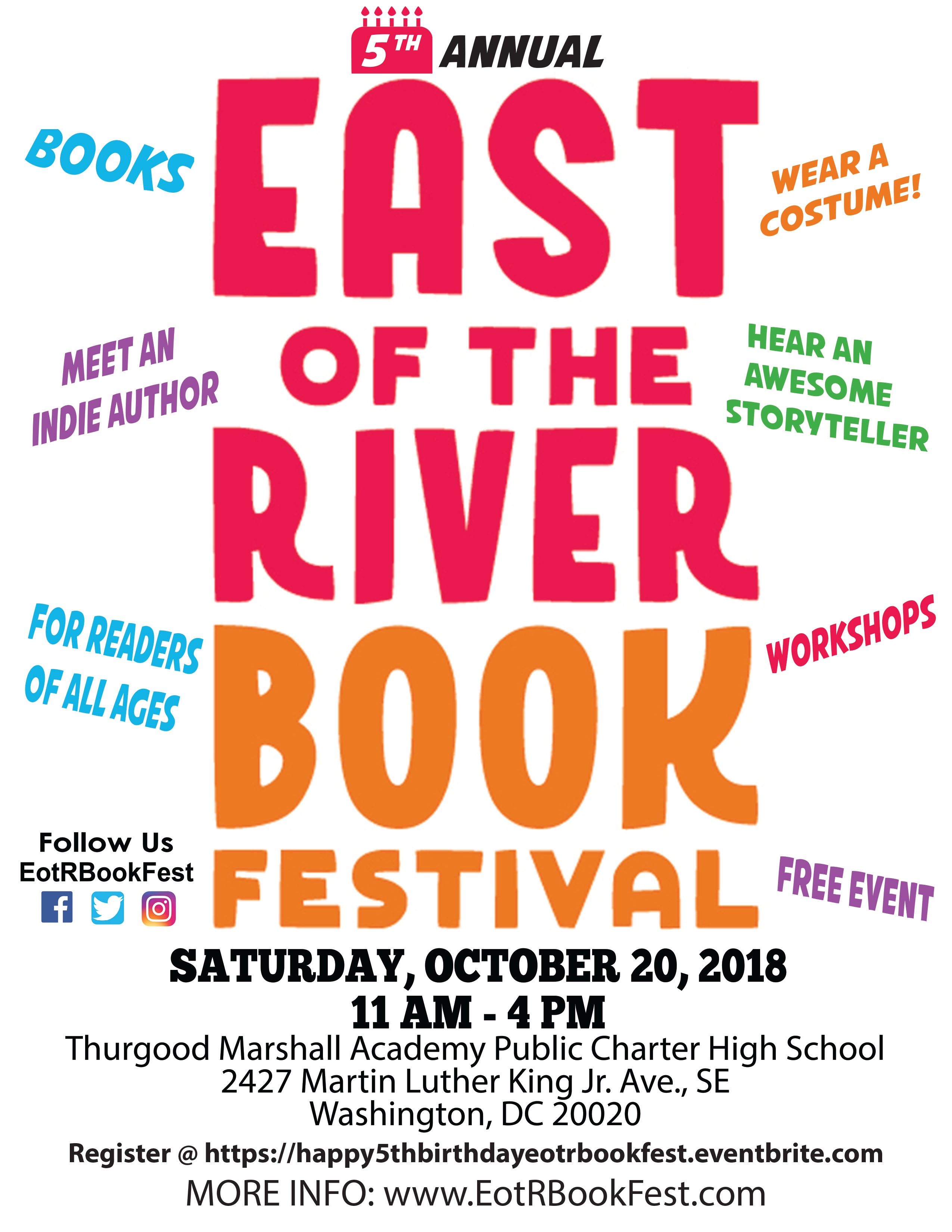 East of the River Book Festival